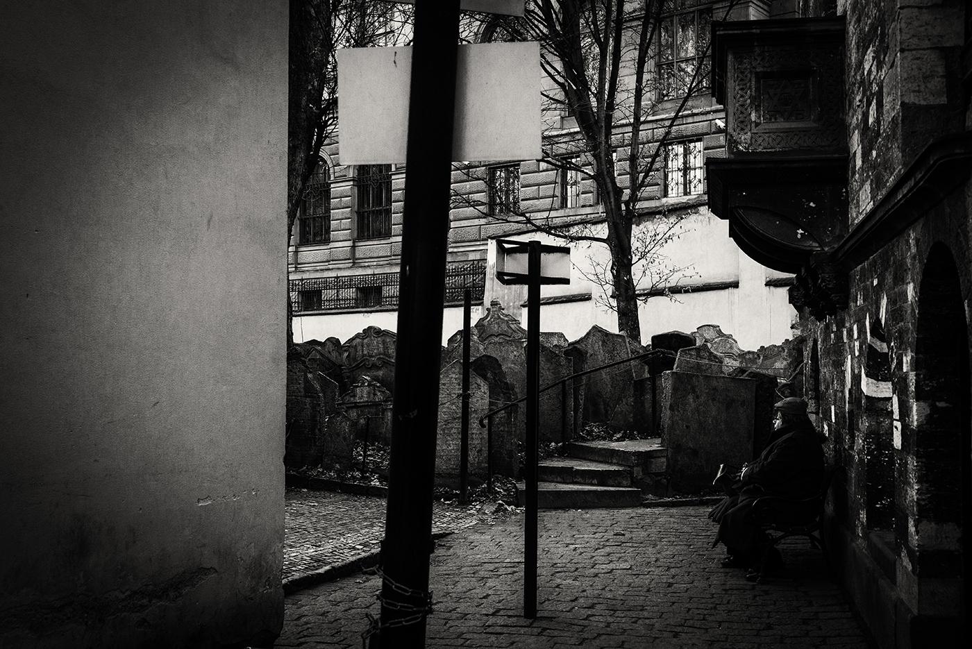 Begraafplaats in Praag