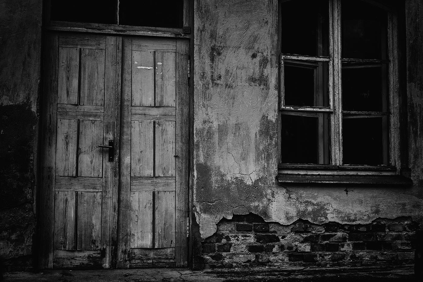 Fragment van een oud huis in Frankrijk